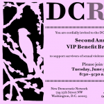 DC Rape Crisis Center invitation